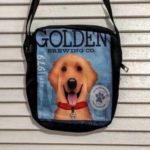 Small Zippered Golden Retriever Bag NWOT